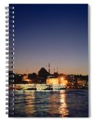Colours Of Istanbul Spiral Notebook