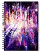 City Nights City Lights Spiral Notebook