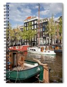 City Of Amsterdam Spiral Notebook