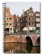 City Of Amsterdam In Holland Spiral Notebook