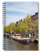 City Of Amsterdam In The Netherlands Spiral Notebook