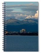 City Of Anchorage  Spiral Notebook