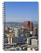 City Of Angels Spiral Notebook