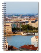 City Of Budapest Cityscape Spiral Notebook
