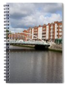 City Of Dublin In Ireland Spiral Notebook