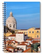 City Of Lisbon In Portugal Spiral Notebook