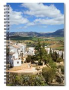 City Of Ronda In Spain Spiral Notebook