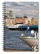 City Of Rotterdam Urban Scenery Spiral Notebook