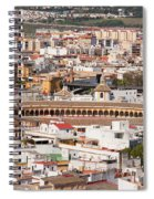 City Of Seville Cityscape In Spain Spiral Notebook