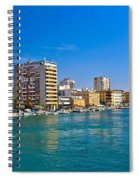 City Of Zadar Waterfront And Harbor Spiral Notebook