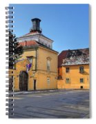 City Of Zagreb Historic Upper Town Spiral Notebook