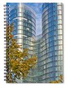 City Of Zagreb Modern Architecture Spiral Notebook
