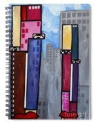 City People Spiral Notebook