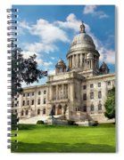 City - Providence Ri - The Capitol  Spiral Notebook