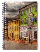 City - Providence Ri - Thomas Street Spiral Notebook