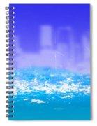 City Rain Spiral Notebook