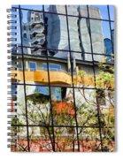 City Reflections By Diana Sainz Spiral Notebook