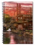 City - Richmond Va - After The Fighting Stopped - 1865 Spiral Notebook