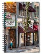 City - Roanoke Va - Down One Fine Street  Spiral Notebook