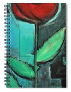 City Rose - Few Noticed Spiral Notebook