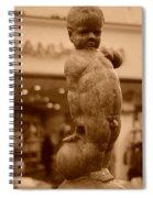 City Sculpture Spiral Notebook