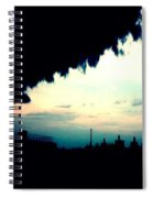 City Silhouette  Spiral Notebook