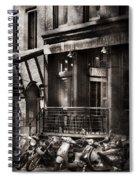 City - South Street Seaport - Bingo 220  Spiral Notebook