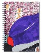 City Curb Street Parking Spiral Notebook