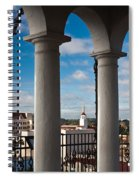 City Viewed Through From The Santa Spiral Notebook