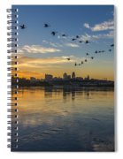 City Wakes Spiral Notebook