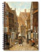 Cityscape Spiral Notebook