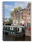 Cityscape Of Amsterdam Spiral Notebook