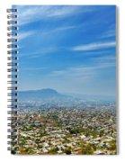 Cityscape Of Tuxtla Chiapas Spiral Notebook