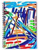 Cityscape Spiral Notebook