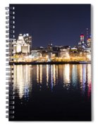 Cityscape - Philadelphia Spiral Notebook