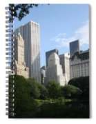 Cityview Form Central Park Spiral Notebook