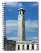 Civic Centre Southampton Spiral Notebook