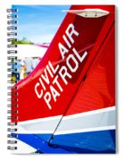 Civil Air Patrol Spiral Notebook
