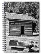 Civil War Cabin Spiral Notebook