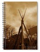 Civil War Camp Spiral Notebook