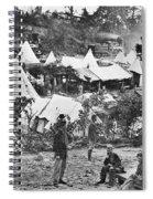 Civil War Hospital, 1860s Spiral Notebook
