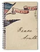 Civil War Letter 18 Spiral Notebook
