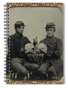 Civil War Soldiers C1863 Spiral Notebook