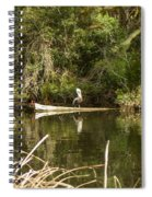 Claim On The Log Spiral Notebook