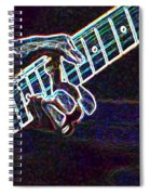 Clapton Electrified Spiral Notebook