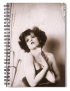 Clara Bow Spiral Notebook