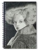 Clara Bow Spiral Notebook