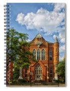 Clark Hall - University Of Alabama Spiral Notebook