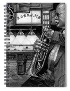 Jazz Clark Terry Spiral Notebook