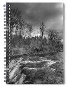 Clarksburg Falls 1833 Spiral Notebook